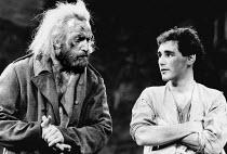 LEAR by Edward Bond after Shakespeare's 'King Lear' design: Kit Surrey lighting: Leo Leibovici fights: Malcolm Ranson director: Barry Kyle <br> Bob Peck (Lear), Mark Rylance (The Gravedigger's Boy) tr...