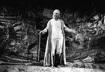 LEAR by Edward Bond after Shakespeare's 'King Lear' design: Kit Surrey lighting: Leo Leibovici fights: Malcolm Ranson director: Barry Kyle <br> blinded: Bob Peck (Lear) transfer of the 1982 The Other...