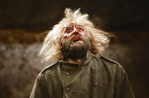 LEAR by Edward Bond after Shakespeare's 'King Lear' design: Kit Surrey lighting: Leo Leibovici fights: Malcolm Ranson director: Barry Kyle <br> Bob Peck (Lear) transfer of the 1982 The Other Place pro...