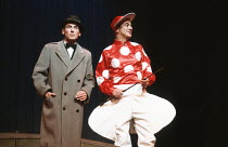 UNDERNEATH THE ARCHES devised by Patrick Garland, Brian Glanville & Roy Hudd inspired by Chesney Allen design: Terry Parsons lighting: Bill Bray director: Roger Redfarn <br> l-r: Christopher Timothy (...