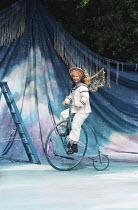 A MIDSUMMER NIGHT'S DREAM by Shakespeare design: James Merifield lighting: Jason Taylor director: John Doyle <br>~Toyah Willcox (Puck) ~Open Air Theatre, Regent's Park, London 14/06/1995 (c) Donald Co...