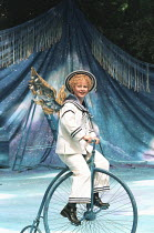 A MIDSUMMER NIGHT'S DREAM by Shakespeare design: James Merifield lighting: Jason Taylor director: John Doyle <br>~Toyah Willcox (Puck) Open Air Theatre, Regent's Park, London 14/06/1995 (c) Donald Coo...