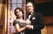 AND THEN THERE WERE NONE by Agatha Christie design: Robert Jones lighting: Jason Taylor director: Kenneth Alan Taylor <br> Koo Stark (Vera Claybourne), Geoffrey Davies (Philip Lombard) Duke of York's...