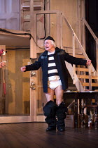 NOISES OFF by Michael Frayn design: Max Jones lighting: Amy Mae fights: Rachel Bown-Williams & Ruth Cooper-Brown director: Jeremy Herrin <br> backstage - Simon Rouse (Selsdon Mowbray, playing the Burg...