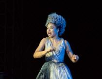 A MIDSUMMER NIGHT'S DREAM by Shakespeare design: Rachael Canning lighting: Ben Ormerod movement: Emily-Jane Boyle director: Dominic Hill <br> Amber James (Titania) Open Air Theatre, Regent's Park, L...