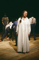 AS I LAY DYING by William Faulkner adapted for the stage and directed by Peter Gill design: Alison Chitty lighting: Stephen Wentworth <br> June Watson (Addie Bundren) Cottesloe Theatre, National Theat...