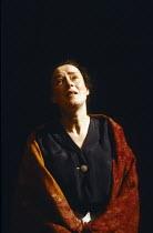 JUNO AND THE PAYCOCK by Sean O'Casey design: Deirdre Clancy lighting: Mark Seaman director: Peter Gill <br> Linda Bassett (Juno Boyle) Lyttelton Theatre, National Theatre (NT), London SE1 22/02/1989 (...