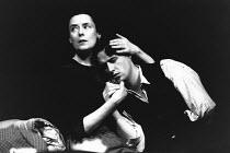 JUNO AND THE PAYCOCK by Sean O'Casey design: Deirdre Clancy lighting: Mark Seaman director: Peter Gill <br> Linda Bassett (Juno Boyle), Linus Roache (Johnny Boyle) Lyttelton Theatre, National Theatre...
