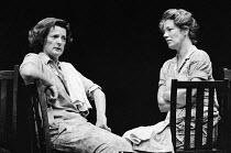 SMALL CHANGE written & directed by Peter Gill set design: William Dudley costumes: Deirdre Clancy lighting: Gareth Jones <br> l-r: June Watson (Mrs Harte), Marjorie Yates ( Mrs Driscoll) Royal Court T...