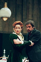 UNCLE VANYA by Anton Chekhov in a version by Frank McGuinness set design: Hayden Griffin costumes: Pamela Howard lighting: Andy Phillips director: Peter Gill <br> Kim Thomson (Elena), Stephen Rea (Van...