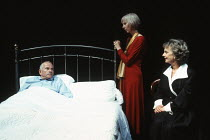 MOONLIGHT by Harold Pinter design: Bob Crowley lighting: Rick Fisher director: David Leveaux <br>l-r: Ian Holm (Andy), Anna Massey (Bel), Jill Johnson (Maria) Almeida Theatre, London N1 07/09/1993 (c)...