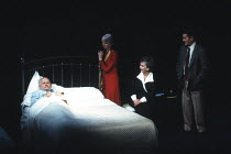 MOONLIGHT by Harold Pinter design: Bob Crowley lighting: Rick Fisher director: David Leveaux <br>l-r: Ian Holm (Andy), Anna Massey (Bel), Jill Johnson (Maria), Edward de Souza (Ralph)an Almeida Theatr...