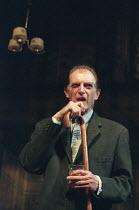 THE HOMECOMING by Harold Pinter design: William Dudley lighting: Hugh Vanstone director: Roger Michell <br> David Bradley (Max) Lyttelton Theatre, National Theatre (NT), London SE1 23/01/1997 (c) Dona...
