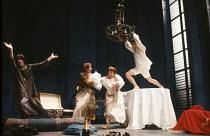 WHEN SHE DANCED by Martin Sherman design: Bob Crowley lighting: Arden Fingerhut director: Robert Allan Ackerman <br> l-r: Frances de la Tour (Miss Belzer), Vanessa Redgrave (Isadora Duncan), Alison Fi...