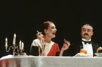 WHEN SHE DANCED by Martin Sherman design: Bob Crowley lighting: Arden Fingerhut director: Robert Allan Ackerman <br>  Vanessa Redgrave (Isadora Duncan), Kevin Elyot (Luciano Zavani) Gielgud Theatre,...