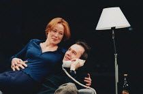 THE REAL THING by Tom Stoppard design: Vicki Mortimer lighting: Mark Henderson director: David Leveaux <br> Jennifer Ehle (Annie), Stephen Dillane (Henry) a Donmar Warehouse 1999 production / Albery T...