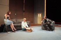 THE REAL THING by Tom Stoppard design: Vicki Mortimer lighting: Mark Henderson director: David Leveaux <br> l-r: Caroline Hayes (Debbie), Sarah Woodward (Charlotte), Stephen Dillane (Henry) Donmar War...