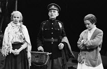 THE ACCRINGTON PALS by Peter Whelan design: Kit Surrey lighting: Michael Calf director: Bill Alexander <br> l-r: Trudie Styler (Eva), Andrew Jarvis (Arthur), Brenda Fricker (Annie) Royal Shakespeare C...