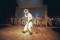 OH! WHAT A LOVELY WAR composed by Joan Littlewood and the Theatre Workshop E15 design: Tom Piper lighting: Ian Scott director: Fiona Laird <br> David Arneil and company National Theatre (NT) Mobile To...