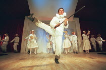 OH! WHAT A LOVELY WAR composed by Joan Littlewood and the Theatre Workshop E15 design: Tom Piper lighting: Ian Scott director: Fiona Laird <br> Karl Morgan and company National Theatre (NT) Mobile Tou...