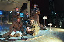 OH! WHAT A LOVELY WAR composed by Joan Littlewood and the Theatre Workshop E15 design: Tom Piper lighting: Ian Scott director: Fiona Laird <br> front, l-r: David Grant, Nicholas Tigg rear centre: Dean...