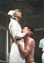ONE FLEW OVER THE CUCKOO'S NEST by Dale Wasserman after the novel by Ken Kesey design: Gavin Davies lighting: Chic Reid director: Robin Midgley <br> Stephanie Turner (Nurse Ratched), Alan Parnaby (Bil...