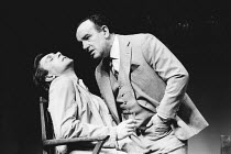 OTHER PLACES by Harold Pinter: ONE FOR THE ROAD design: Eileen Diss director: Kenneth Ives <br> l-r: Roger Davidson (Victor), Colin Blakely (Nicolas) Duchess Theatre, London WC2 07/03/1985 (c) Donald...