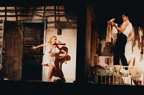 BABY DOLL by Tennessee Williams design: Bunny Christie lighting: Chris Davey fights: Terry King director: Lucy Bailey <br>Charlotte Emmerson (Baby Doll), Jonathan Cake (Silva Vacarro) Birmingham Reper...