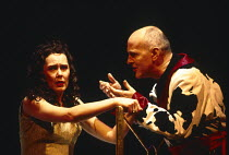 TROILUS AND CRESSIDA music: William Walton after Shakespeare conductor: Richard Hickox design: Neil Warmington lighting: Nick Chelton director: Matthew Warchus <br> Judith Howarth (Cressida), Nigel Ro...