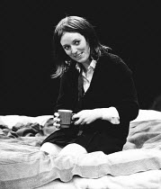 A TASTE OF HONEY by Shelagh Delaney design: Charles Dunlop director: Pam Brighton <br> Jane Wood (Jo) The Young Vic, London SE1 13/02/1973 (c) Donald Cooper/Photostage photos@photostage.co.uk ref/BW-P...