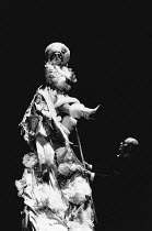 THE VISIT by Friedrich Durrenmatt adapted by Maurice Valency design: Rae Smith lighting: Luke Sapsed directors: Annabel Arden & Simon McBurney <br> Kathryn Hunter (Clara Zachanassian), Marcello Magni...