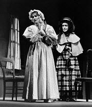 CRANFORD by Mrs Gaskell adapted by Joan Littlewood & John Wells music: Carl Davis lyrics: John Wells design: Dee Greenwood lighting: Ray Duffill director: Joan Kemp-Welch <br> l-r: Penelope Lee (Miss...