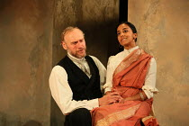 A DOLL'S HOUSE by Henrik Ibsen adapted by Tanika Gupta design: Lily Arnold lighting: Kevin Treacy director: Rachel O'Riordan <br> Elliot Cowan (Tom), Anjana Vasan (Niru) Lyric Hammersmith, London W6 1...