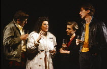 ICECREAM by Caryl Churchill set design: Peter Hartwell costumes: Jennifer Cook lighting: Christopher Toulmin director: Max Stafford-Clark <br> l-r: Philip Jackson (Lance), Carole Hayman (Vera), Saskia...
