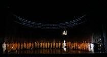 SATYAGRAHA music: Philip Glass libretto: Philip Glass & Constance DeJong conductor: Karen Kamensek costumes: Kevin Pollard original lighting: Paule Constable video design: 59 Productions original dire...