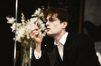 THE VORTEX by Noel Coward designed & directed by Philip Prowse lighting: Gerry Jenkinson choreography: Imogen Claire <br>Rupert Everett (Nicky Lancaster)Garrick Theatre, London WC2 26/01/1989 (c) Dona...