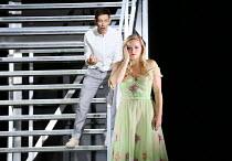 AGRIPPINA music: George Frideric Handel libretto: Vincenzo Grimani set design: Rebecca Ringst costumes: Klaus Bruns lighting: Joachim Klein director: Barrie Kosky <br> Iestyn Davies (Ottone), Lucy Cro...