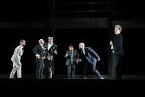 AGRIPPINA music: George Frideric Handel libretto: Vincenzo Grimani set design: Rebecca Ringst costumes: Klaus Bruns lighting: Joachim Klein director: Barrie Kosky <br> l-r: Andrea Mastroni (Pallante),...