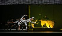 ORPHEUS AND EURYDICE by Christoph Willibald Gluck conductor: Harry Bicket set design: Lizzie Clachan costumes: Louise Gray lighting: Jon Clark directed and choreographed by Wayne McGregor <br> dancers...