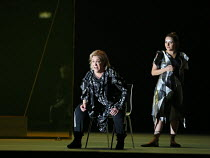 ORPHEUS AND EURYDICE by Christoph Willibald Gluck conductor: Harry Bicket set design: Lizzie Clachan costumes: Louise Gray lighting: Jon Clark directed and choreographed by Wayne McGregor <br> l-r: Al...