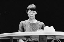 GREAT & SMALL by Botho Strauss translated by David Essinger design: Voytek lighting: Graham Large director: Keith Hack <br> Glenda Jackson (Lotte) Vaudeville Theatre, London WC2 25/08/1983 (c) Donald...