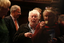 Sir Harrison Birtwistle photographed during the interval of the final dress rehearsal of THE MASK OF ORPHEUS at English National Opera (ENO), London Coliseum on 16 October 2019 <br> (c) Donald Cooper/...