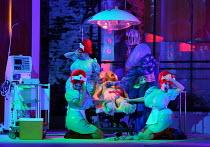 THE MASK OF ORPHEUS music: Harrison Birtwistle libretto: Peter Zinovieff conductor: Martyn Brabbins set design: Lizzie Clachan costumes: Daniel Lismore lighting & video design: Peter Mumford choreogra...