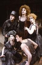 A MIDSUMMER NIGHT'S DREAM by Shakespeare set design: Bob Crowley costumes: Priscilla Truett lighting: Brian Harris fights: Malcolm Ranson director: Sheila Hancock <br> rear: Charles Millham (Mustards...