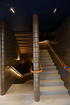 staircase of the Boulevard Theatre, Walker's Court, Soho, London W1, opening in October 2019 <br> (c) Donald Cooper/Photostage photos@photostage.co.uk ref/0007