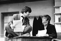 BUTLEY by Simon Gray director: Harold Pinter <br> l-r: Alan Bates (Ben Butley), Richard O'Callaghan (Joseph Keyston) Criterion Theatre, London SW1 14/07/1971 (c) Donald Cooper/Photostage photos@photo...
