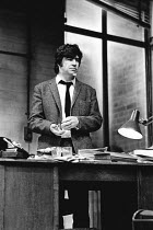 BUTLEY by Simon Gray director: Harold Pinter <br> Alan Bates (Ben Butley) Criterion Theatre, London SW1 14/07/1971 (c) Donald Cooper/Photostage photos@photostage.co.uk ref/BW-P-150-31