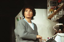 ME AND MAMIE O'ROURKE by Mary Agnes Donoghue director: Robert Allan Ackerman <br> Jennifer Saunders (Louise) Strand Theatre, London WC2 16/12/1993 (c) Donald Cooper/Photostage photos@photostage.co.uk...