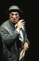 TRAVESTIES by Tom Stoppard design: Richard Hudson lighting: Jennifer Tipton movement: Sue Lefton director: Adrian Noble <br> Antony Sher (Henry Carr) Royal Shakespeare Company (RSC), Barbican Theatre,...