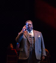 DEATH OF A SALESMAN by Arthur Miller design: Anna Fleischle lighting: Aideen Malone fights: Yarit Dor directors: Miranda Cromwell & Marianne Elliott <br>Wendell Pierce (Willy Loman)a Young Vic product...